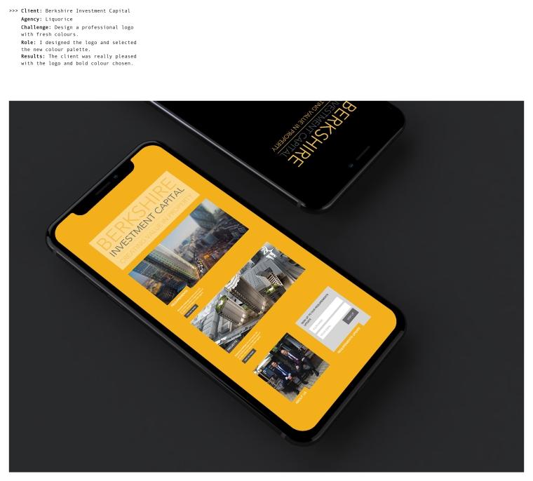 Portfolio website 7