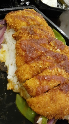 Located in the Dubai Mall, The Cheescake factory is a must. Chicken Katsu on a bed of rice. Portion sizes are massive but you pay for what you get.